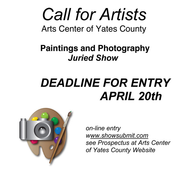 Arts Center of Yates County Juried Show
